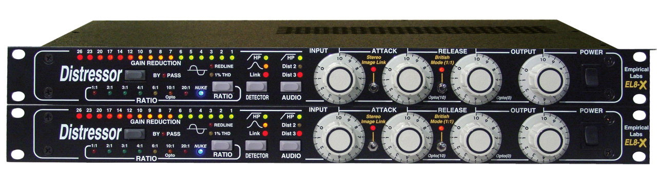 Empirical Labs Distressor EL8SX Stereo Pair with British Mode