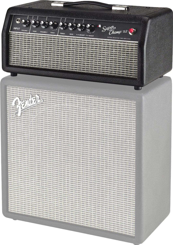 fender super champ x2 15 watt guitar amp head 885978117437 ebay. Black Bedroom Furniture Sets. Home Design Ideas