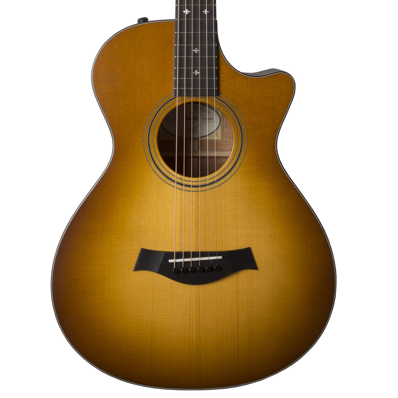 taylor 322ce 12 fret limited edition grand concert acoustic guitar w
