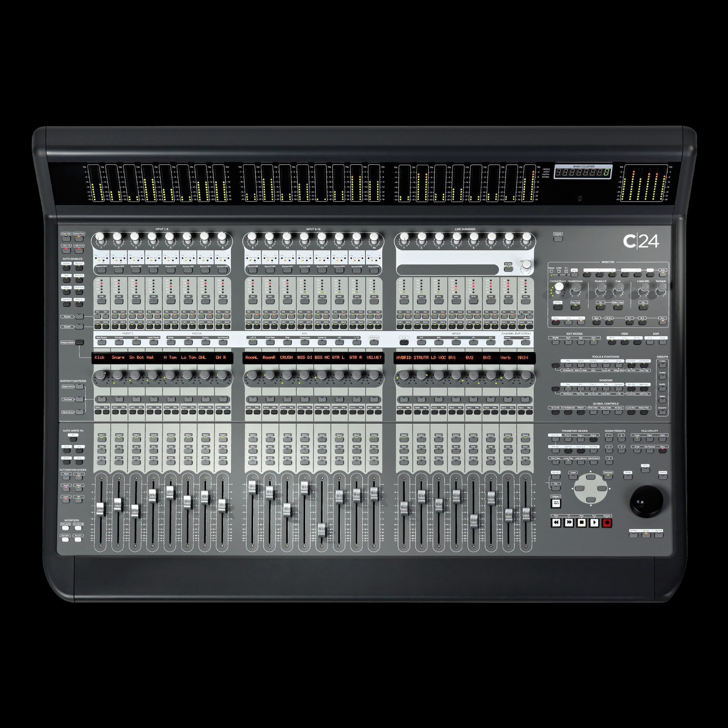 Digidesign Avid C24 Control Surface Altomusic