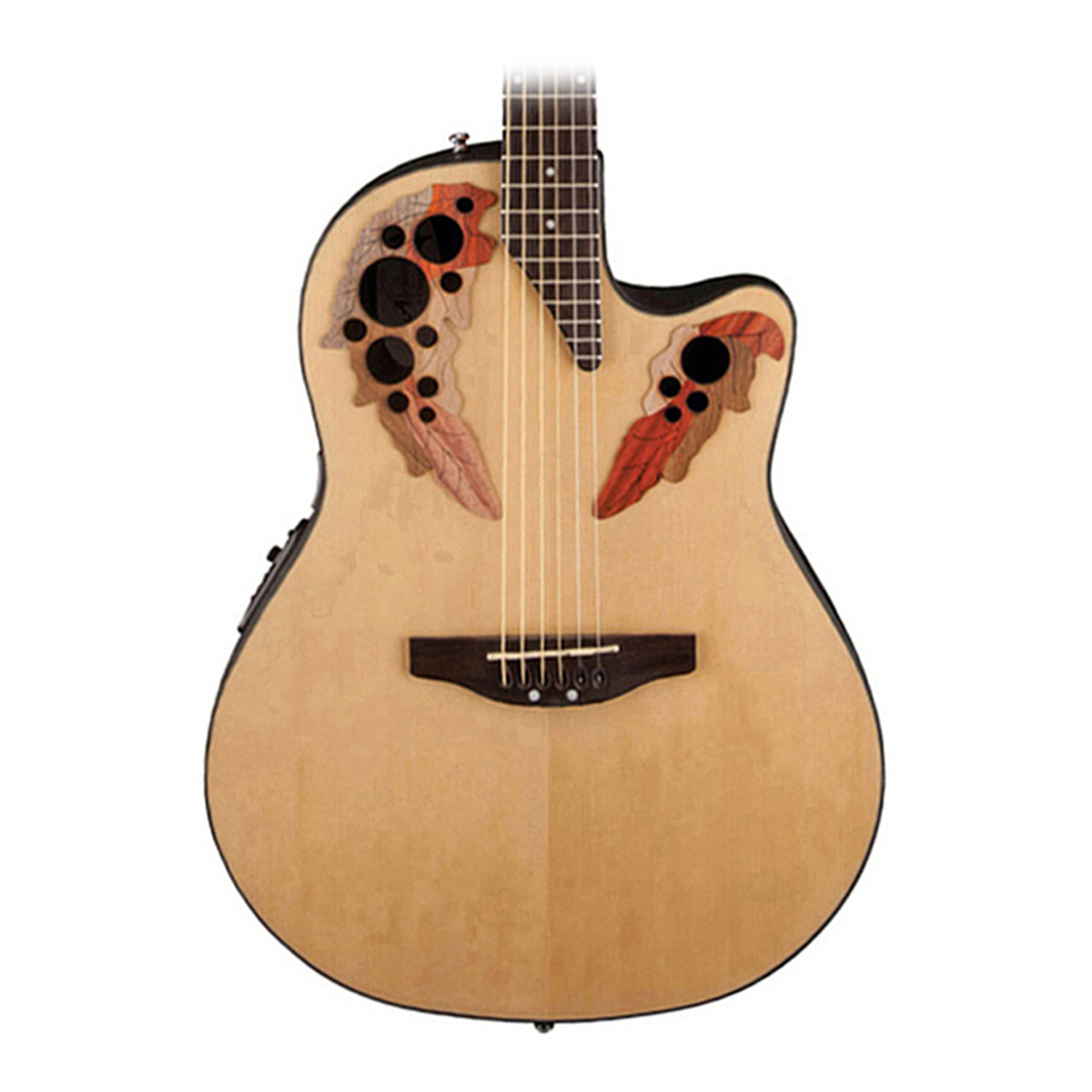 Ovation Applause Ae444 Elite Mid Depth Acoustic Electric
