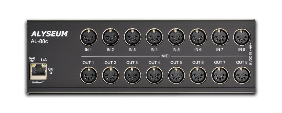 Alyseum AL-88C MIDI Patch Bay