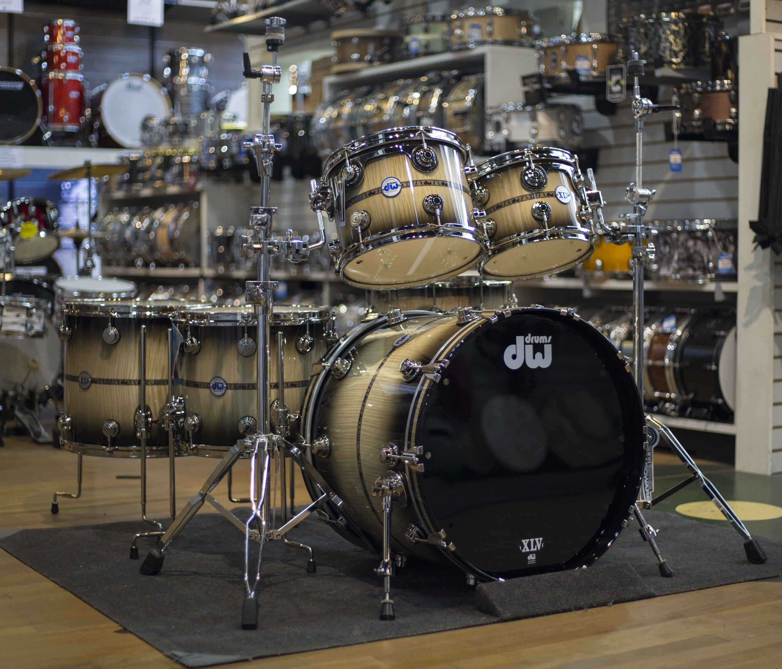 DW Collectors Series Satin Oil 5-Piece Shell Pack Ox