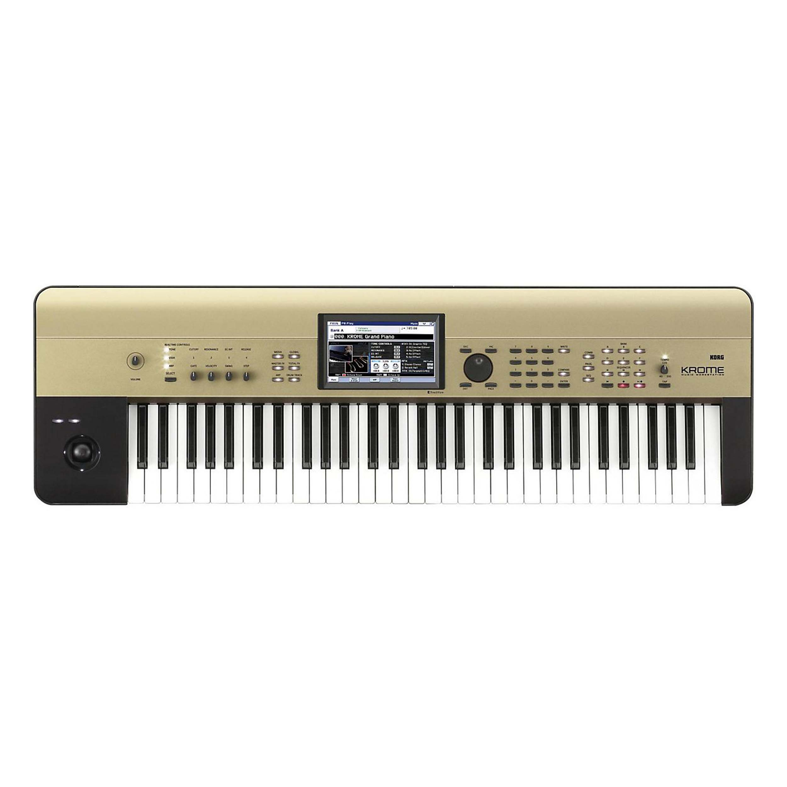 Details about Korg Krome 61 Keyboard Limited Edition Gold 61-Note  Workstation