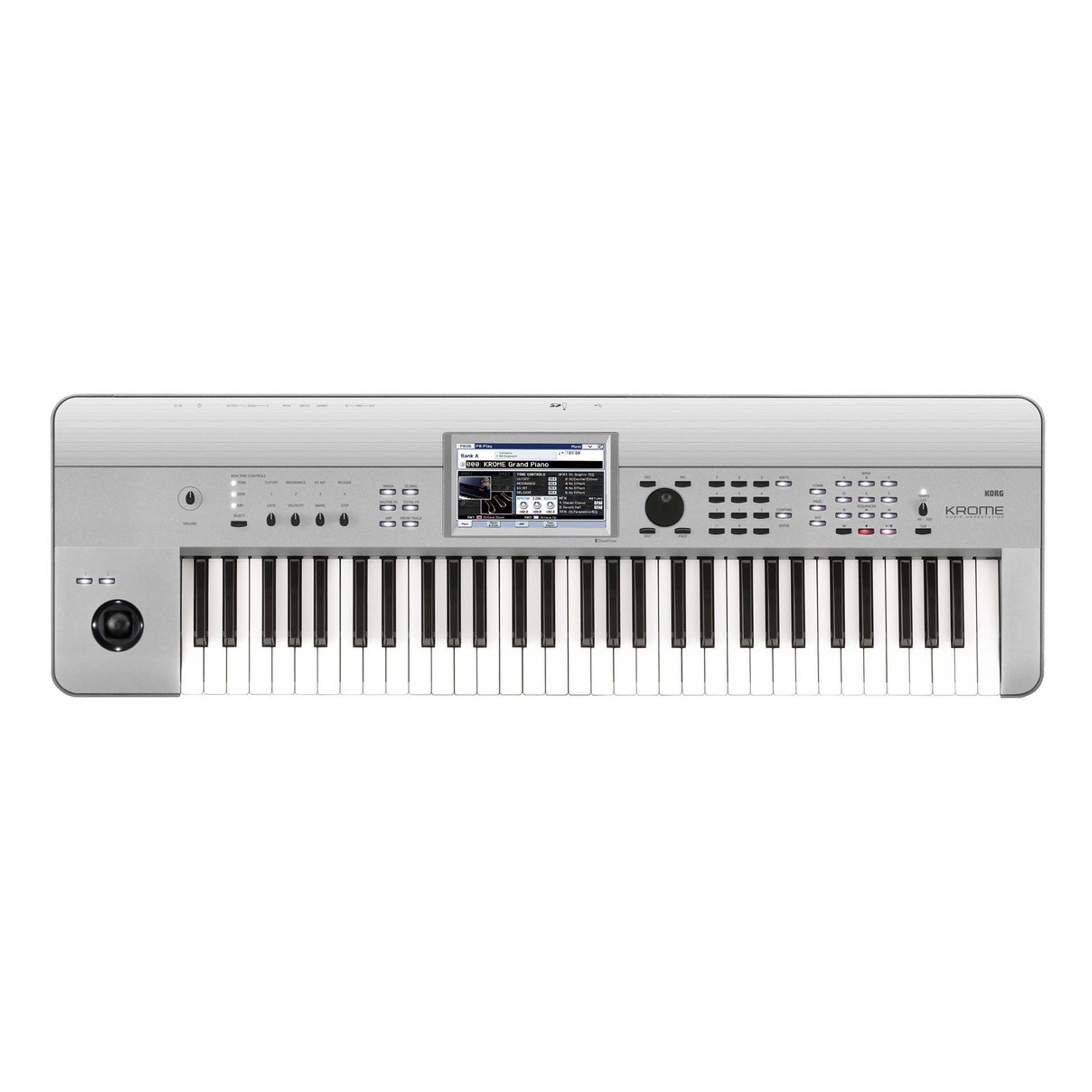 Korg Krome 61 Keyboard Limited Edition Platinum 61-Note