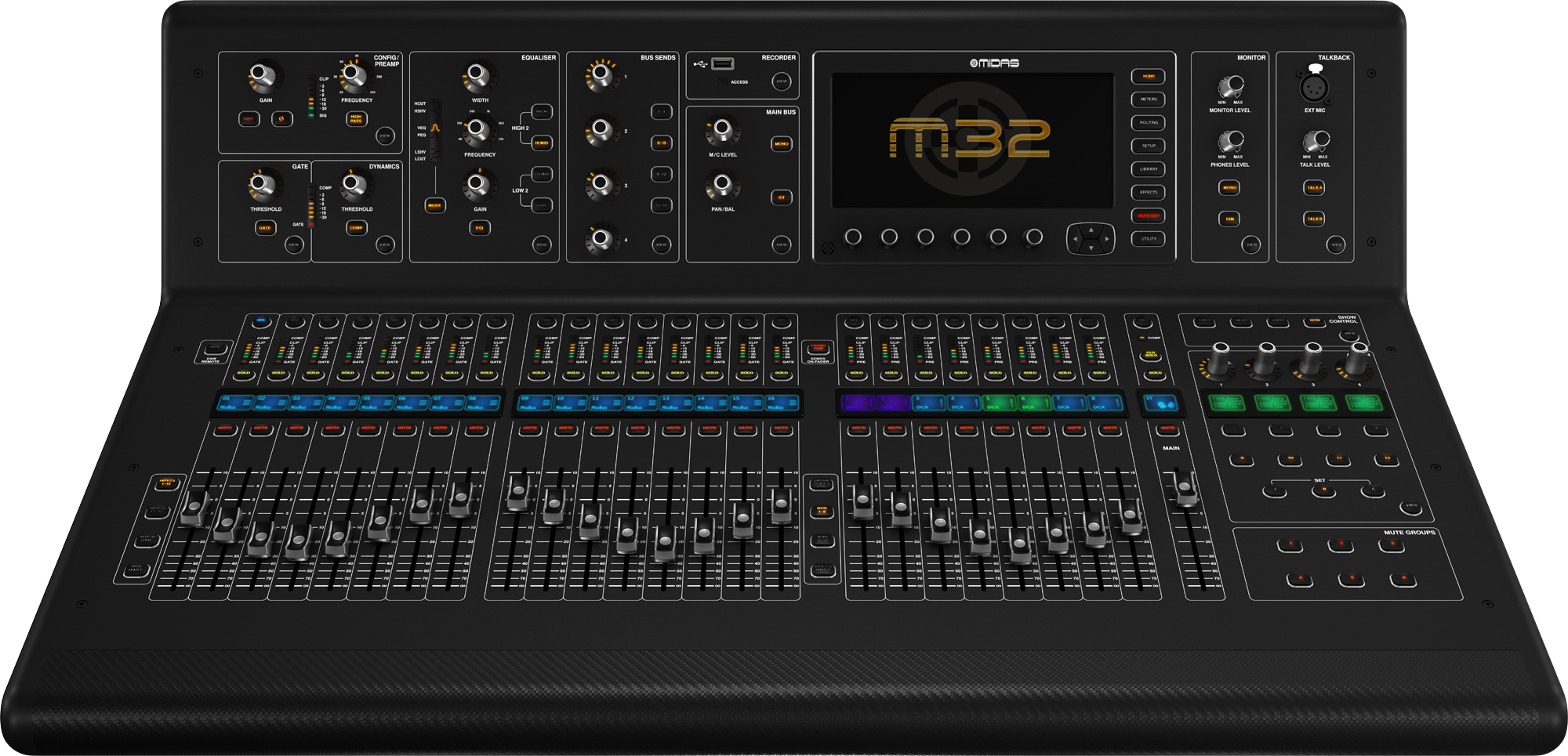 midas m32 40 ch digital mixing console ebay. Black Bedroom Furniture Sets. Home Design Ideas