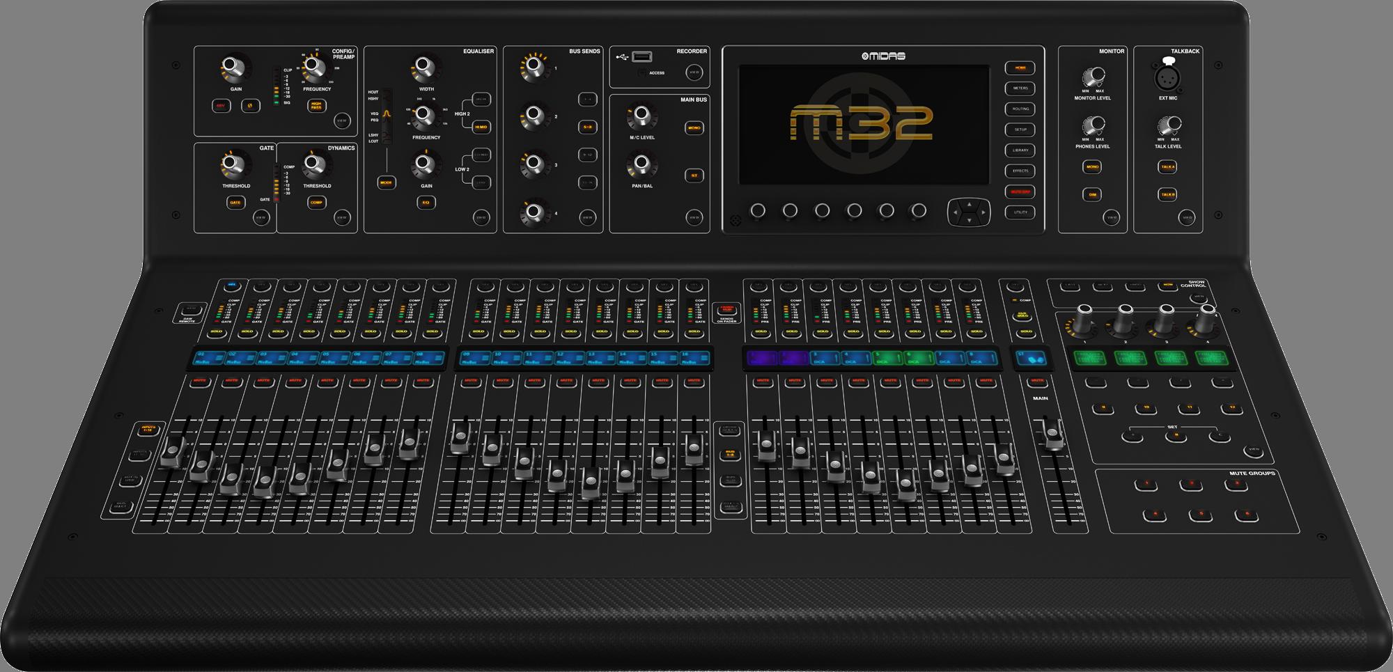 NAMM] Midas M32 - YouTube