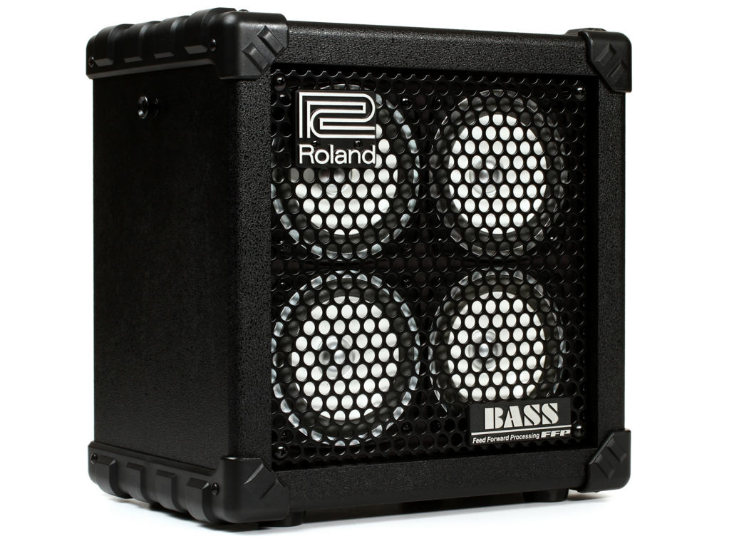 roland micro cbrx battery powered bass amp 761294406342 ebay. Black Bedroom Furniture Sets. Home Design Ideas