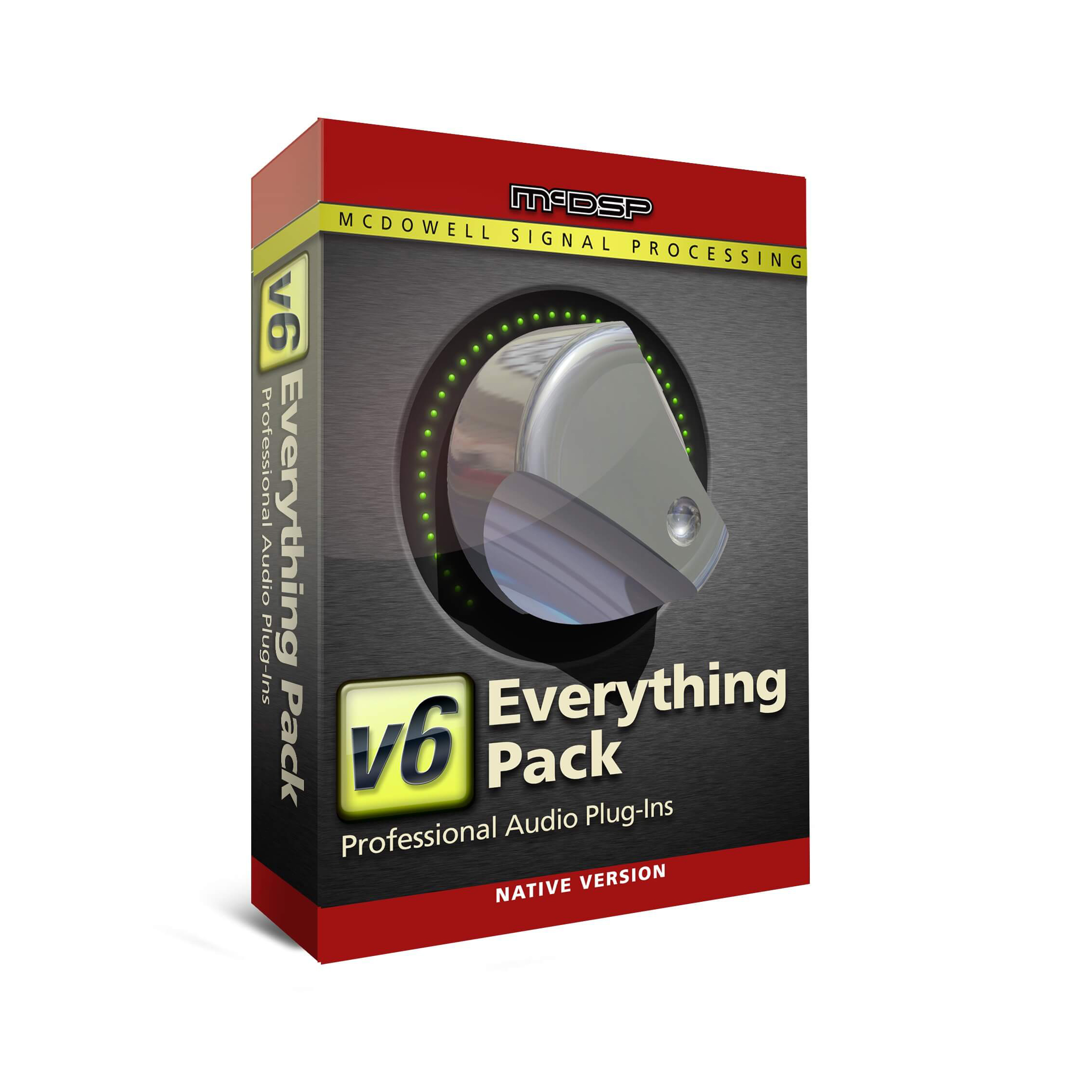 McDSP Everything Pack Native v6 4 (Upgrade From Any 2 McDSP Native Plug-Ins)