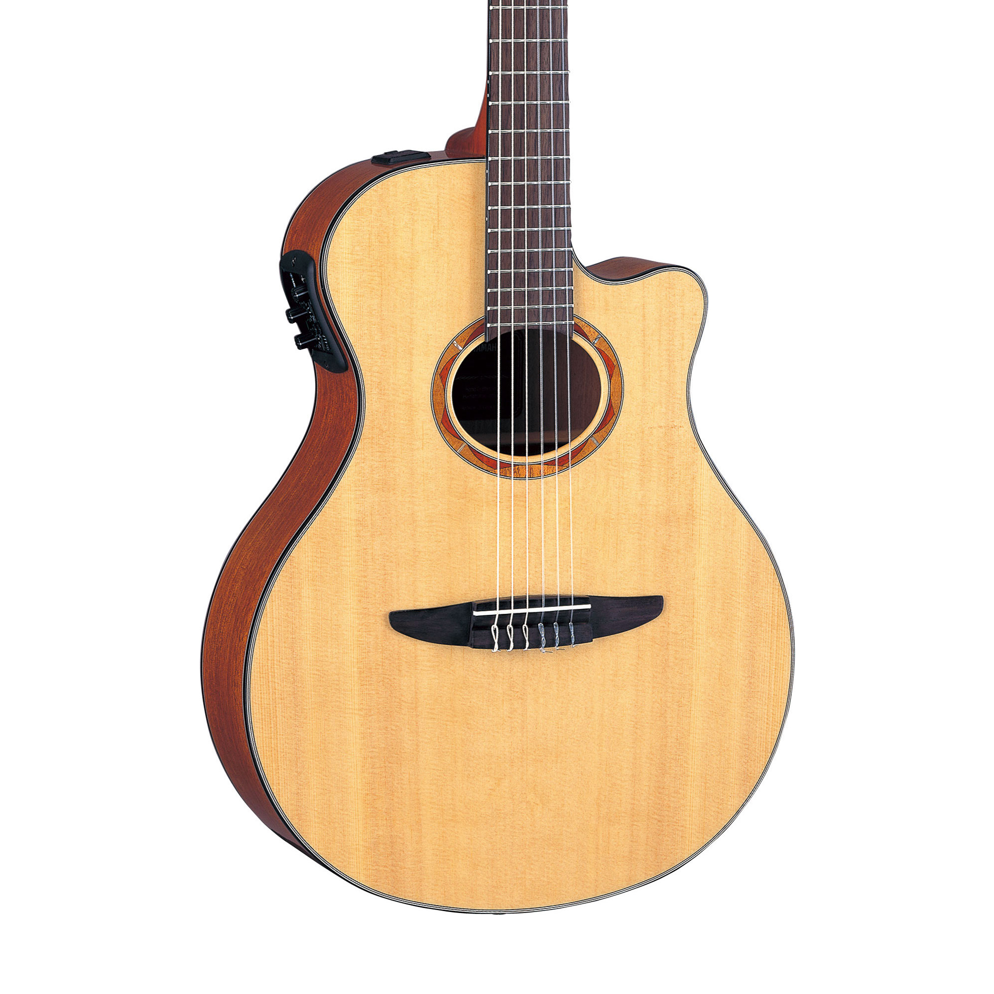 yamaha ntx700 nylon string acoustic electric guitar ebay. Black Bedroom Furniture Sets. Home Design Ideas