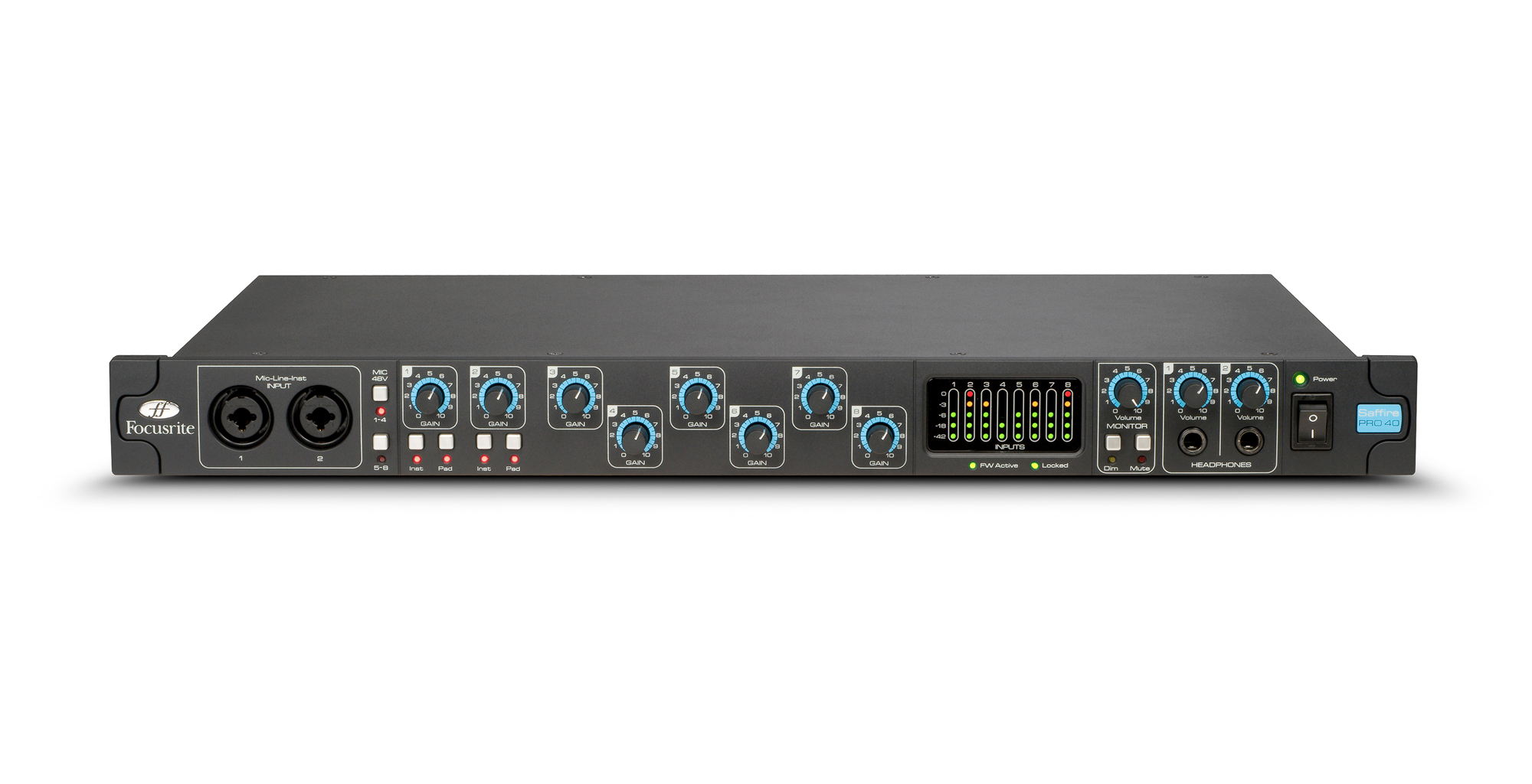 Focusrite Saffire Pro 40 Professional 20 In / 20 Out Fir...