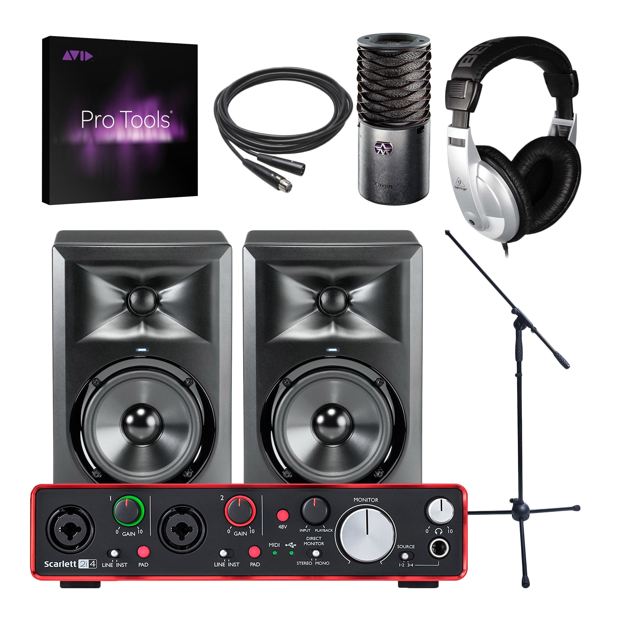 focusrite scarlett 2i4 2nd gen 2 in 4 out usb audio interface bundle ebay. Black Bedroom Furniture Sets. Home Design Ideas