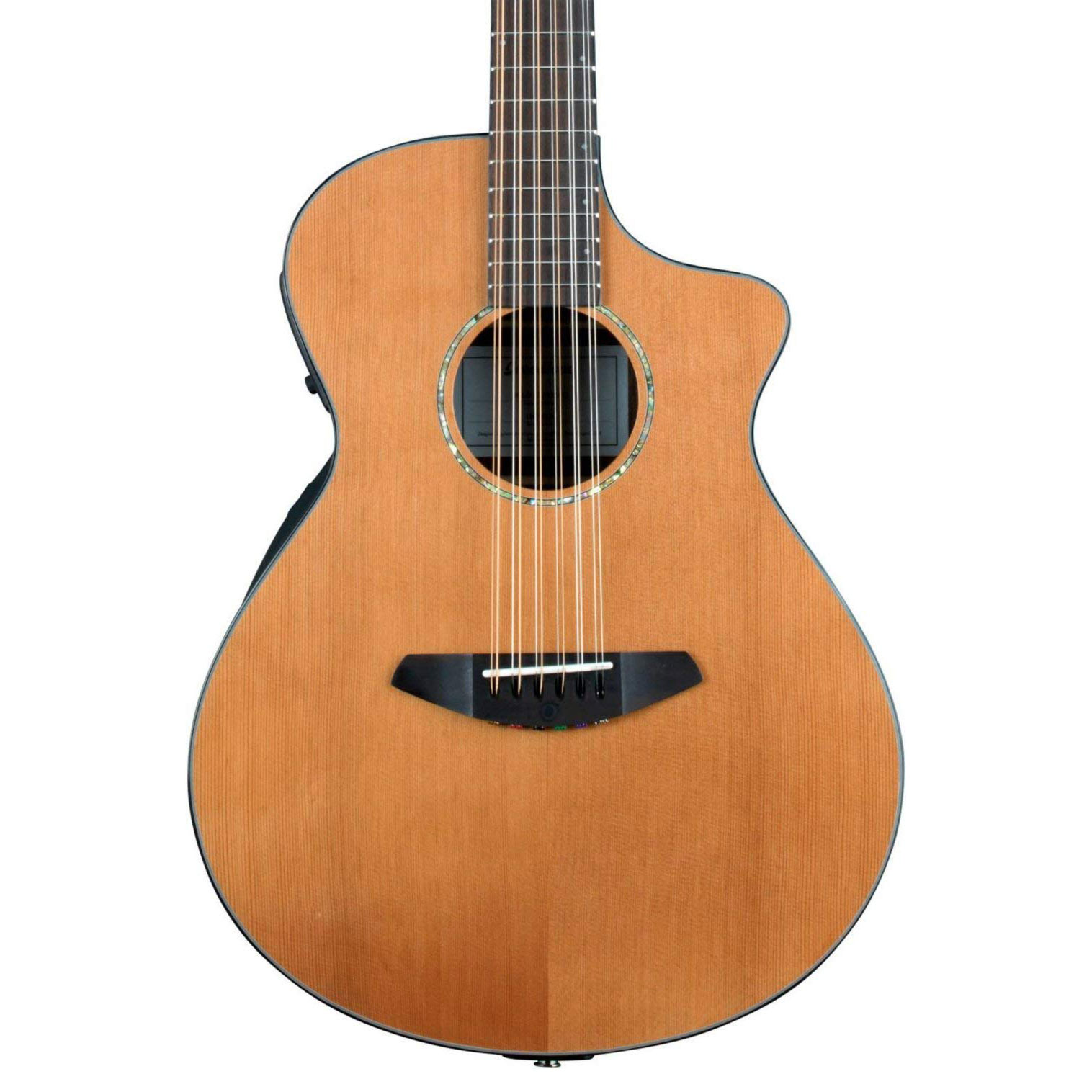 breedlove solo 12 string acoustic electric guitar solid cedar top w gigbag 888365266800 ebay. Black Bedroom Furniture Sets. Home Design Ideas