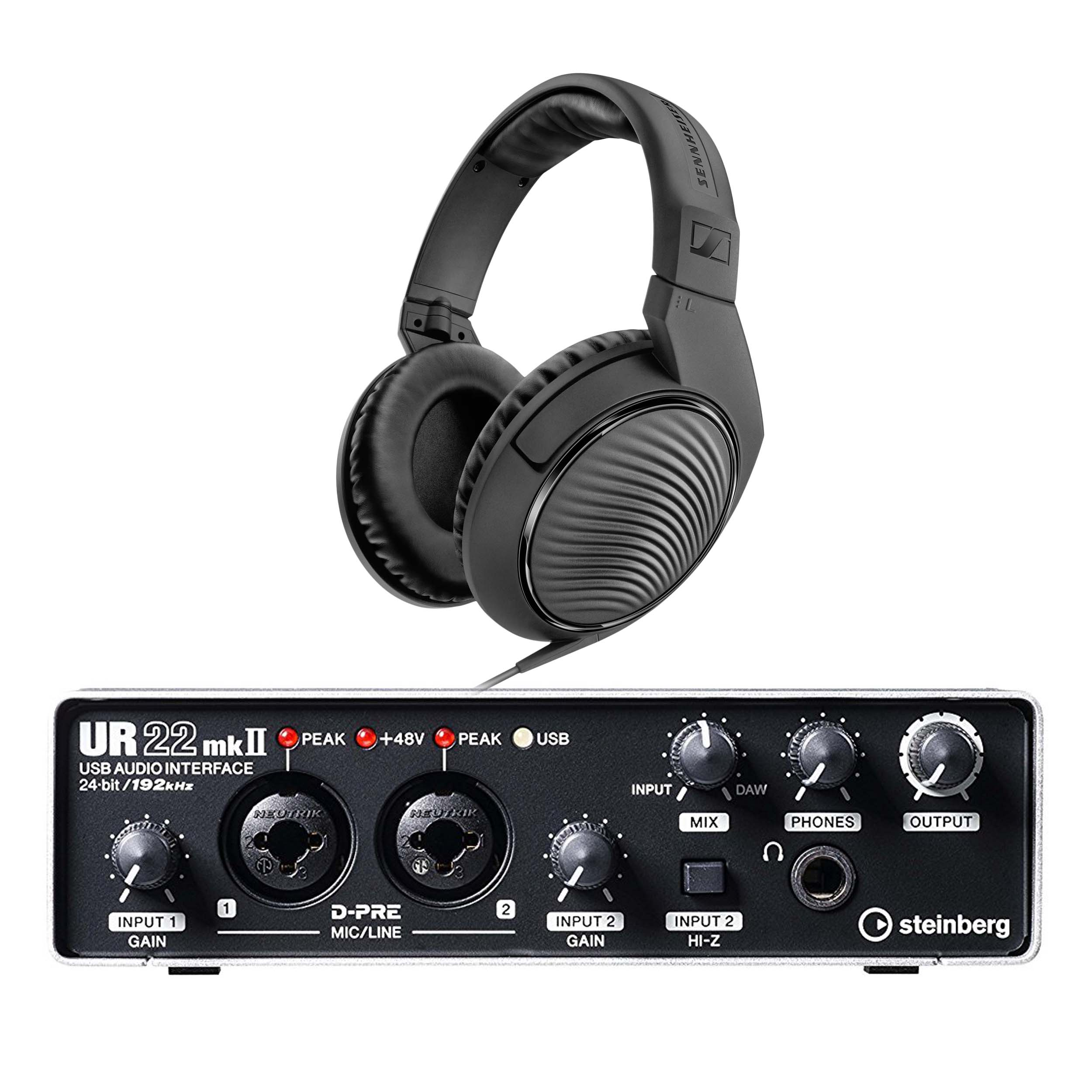Details about Steinberg UR22 MK2 Two-Channel USB Audio Interface with FREE  Headphones