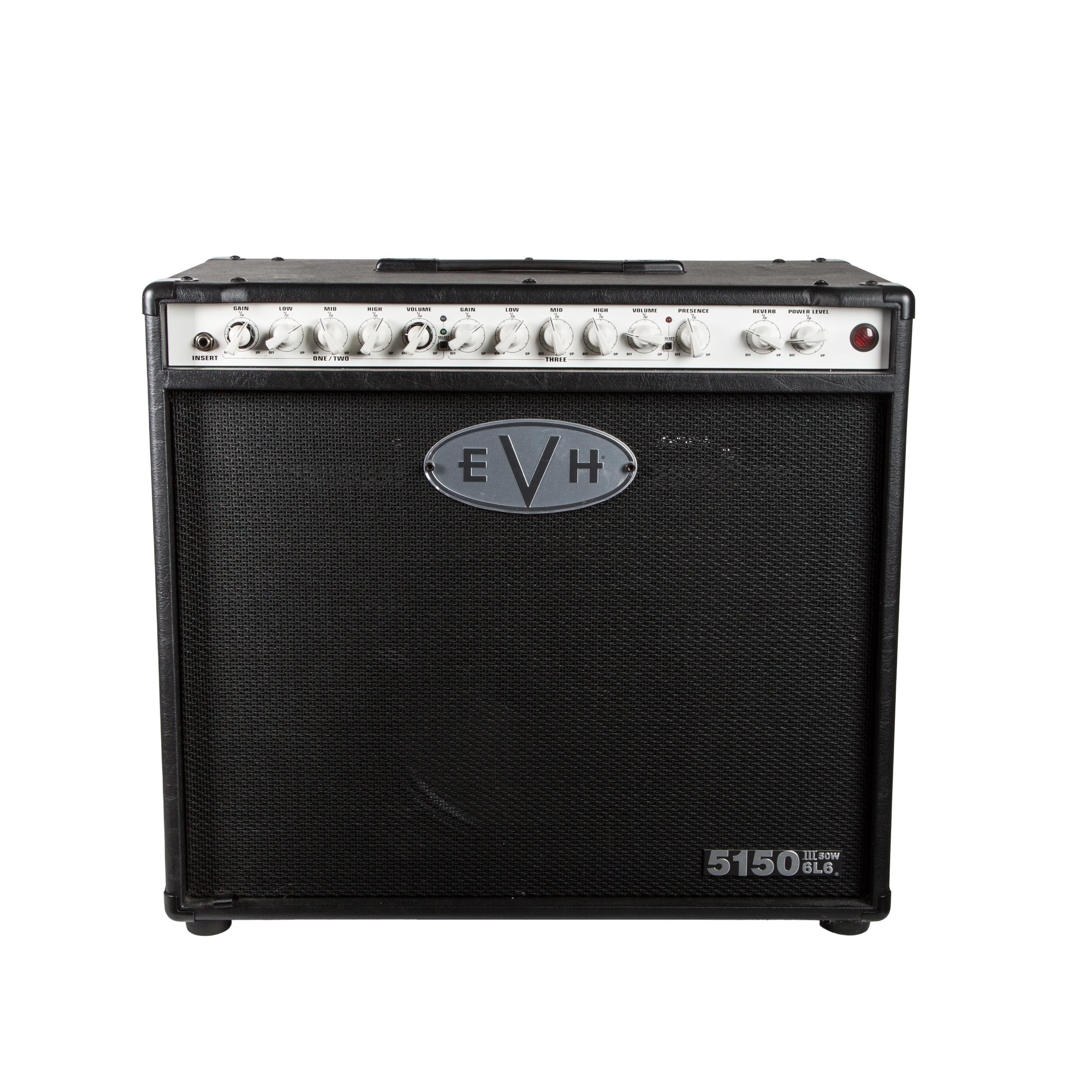 evh 5150 iii 50 watt 1x12 tube guitar combo amplifier in black ebay. Black Bedroom Furniture Sets. Home Design Ideas