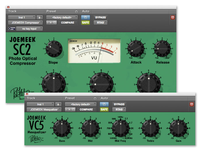 Avid JOEMEEK SC2 & VC5 Plug-In Bundle