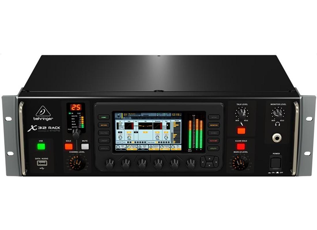 behringer x32 rack 40 input channel 25 bus digital rack mixer 641076977744 ebay. Black Bedroom Furniture Sets. Home Design Ideas