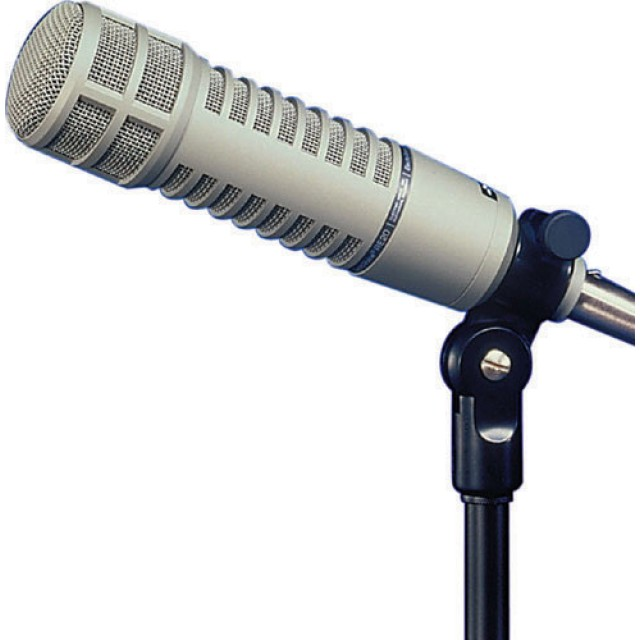 electro voice re20 broadcast dynamic microphone. Black Bedroom Furniture Sets. Home Design Ideas