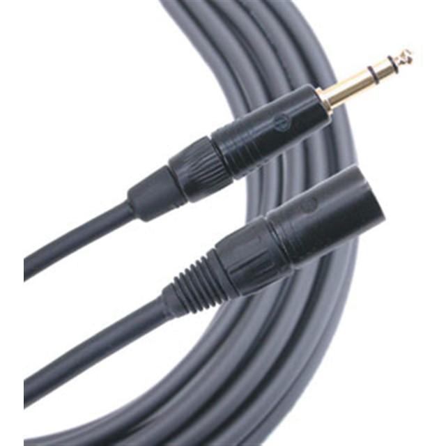 Mogami Gold TRS-XLR Male 15ft Balanced Quad Patch Cable