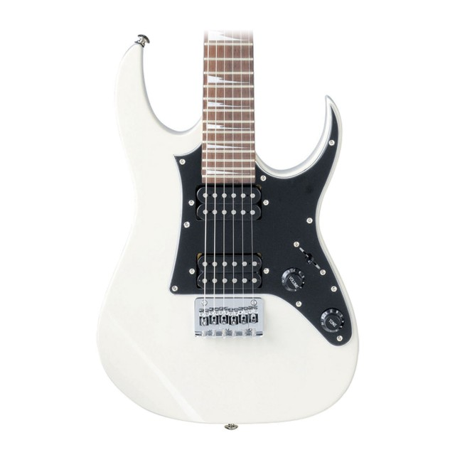 Ibanez GRGM21 Mikro Electric Guitar - White on