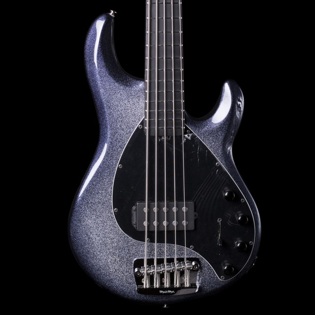 ernie ball music man string ray 5 string bass in starry. Black Bedroom Furniture Sets. Home Design Ideas