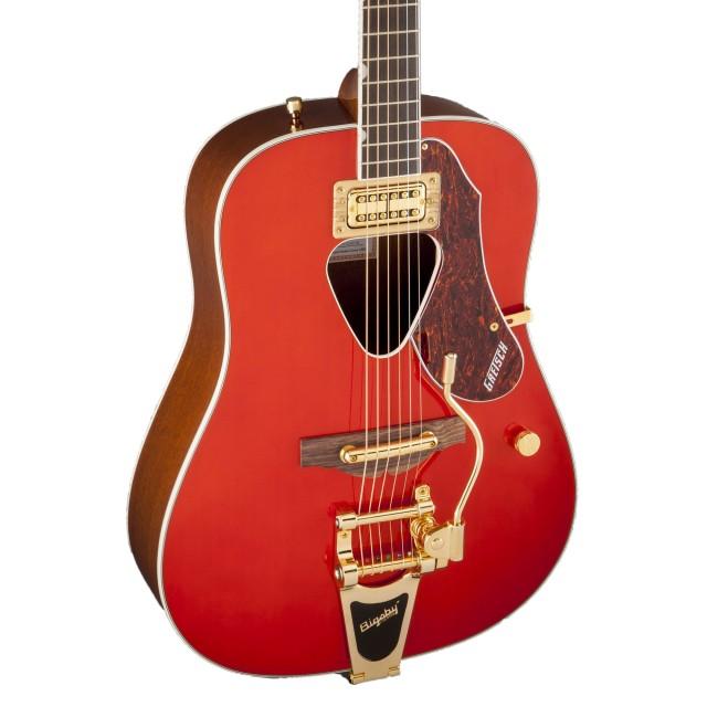 Gretsch Acoustic Guitars >> Gretsch G5034tft Rancher Acoustic Guitar Savannah Sunset