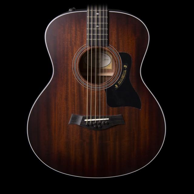 taylor 326e 8 string baritone acoustic electric guitar w. Black Bedroom Furniture Sets. Home Design Ideas