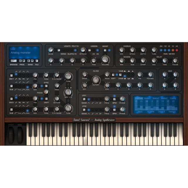 TONE2 Saurus 2 Virtual Instrument