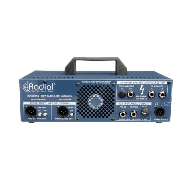 radial engineering headload guitar amp load box. Black Bedroom Furniture Sets. Home Design Ideas