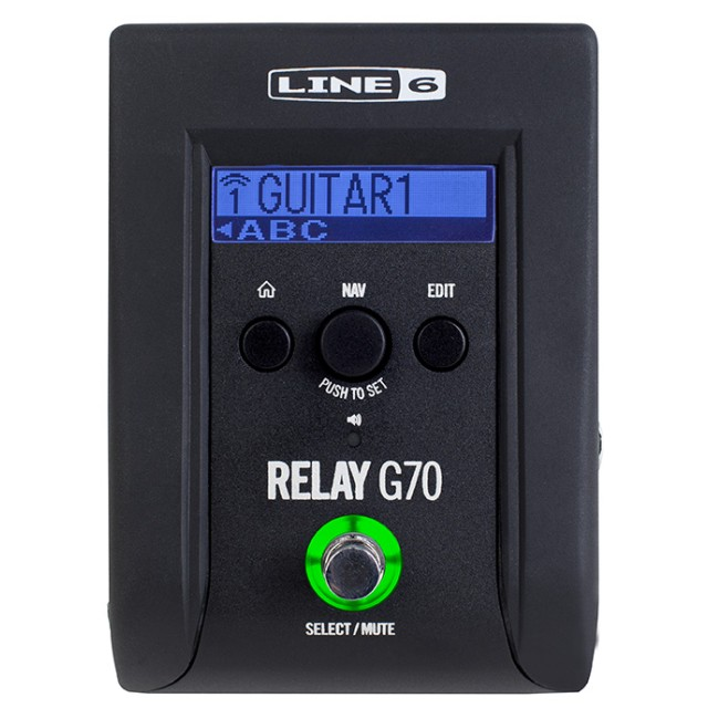 69bdb43ab7e Line 6 Relay G70 Digital Wireless Guitar Pedal System