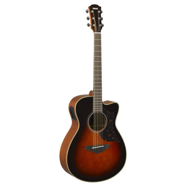 yamaha ac1mtbs small body acoustic electric guitar in to. Black Bedroom Furniture Sets. Home Design Ideas