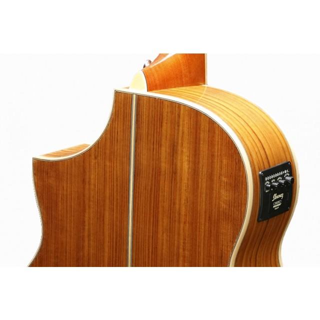 Ibanez AEW21VKNT Exotic Wood Series Acoustic Electric Guitar