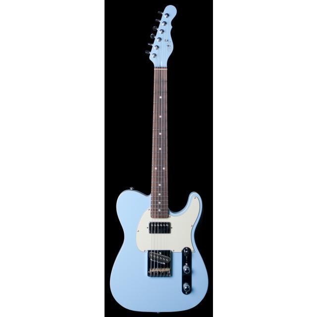g l asat bluesboy baby blue electric guitar w case. Black Bedroom Furniture Sets. Home Design Ideas