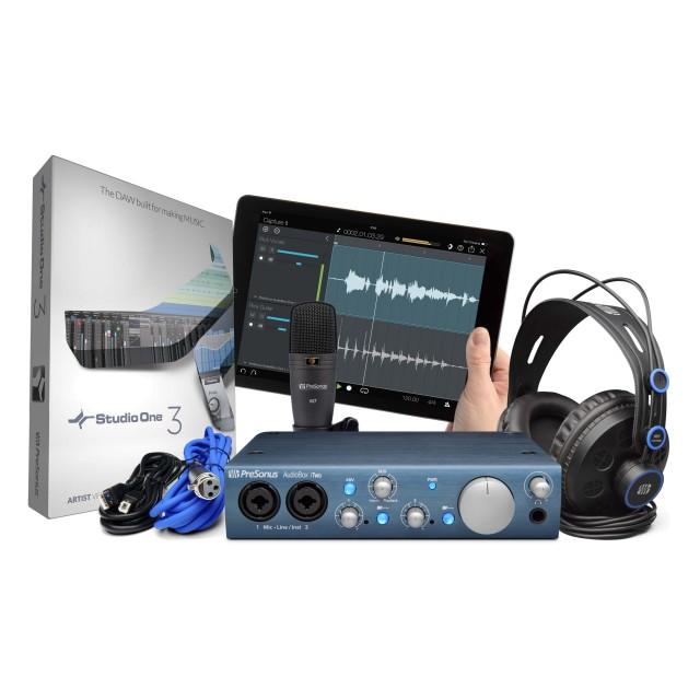 presonus audiobox itwo studio with hd7 headphones m7 mi. Black Bedroom Furniture Sets. Home Design Ideas