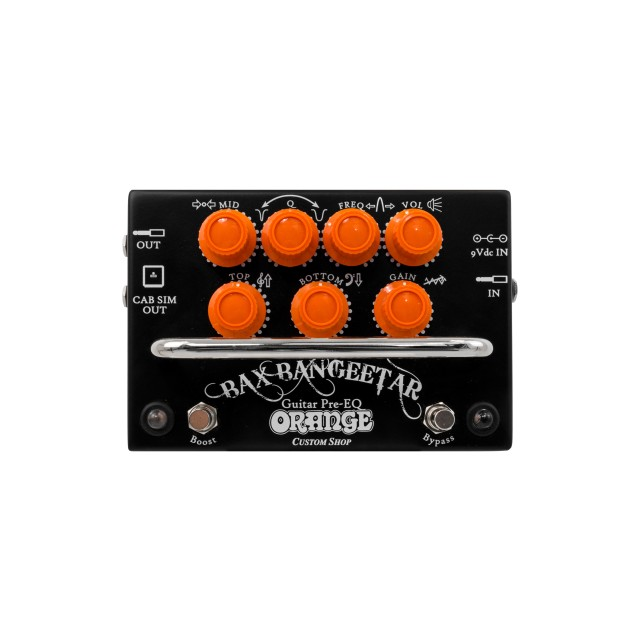 Orange BAXBANGEETARBLK Image #1