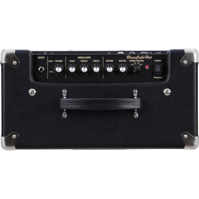 roland blues cube hot guitar amplifier black. Black Bedroom Furniture Sets. Home Design Ideas