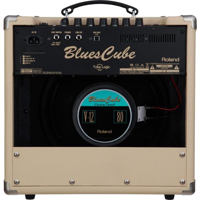 roland blues cube hot guitar amplifier vintage blond. Black Bedroom Furniture Sets. Home Design Ideas