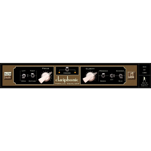 Kush Audio Clariphonic DSP Parallel EQ Plug In Software