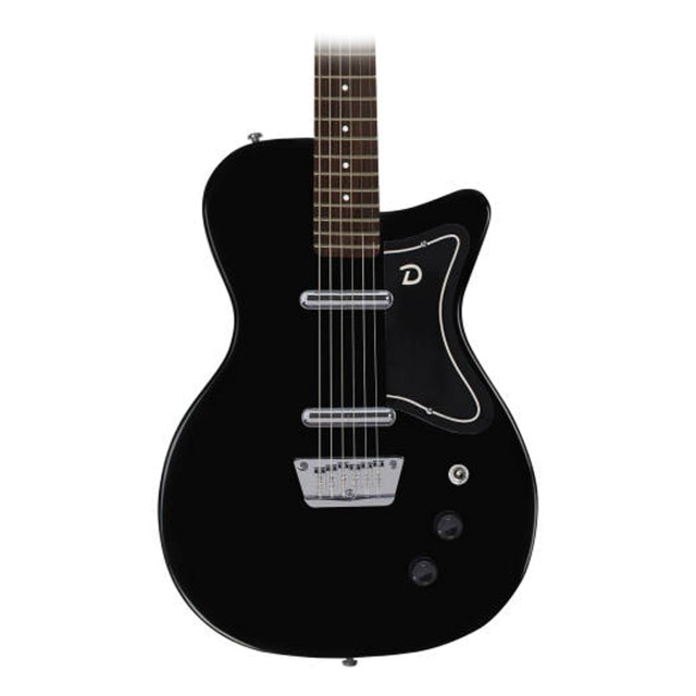 danelectro 39 56 baritone black guitar. Black Bedroom Furniture Sets. Home Design Ideas
