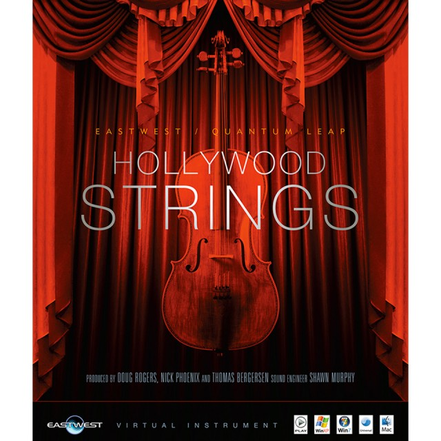 EastWest Hollywood Strings Silver Virtual Instrument