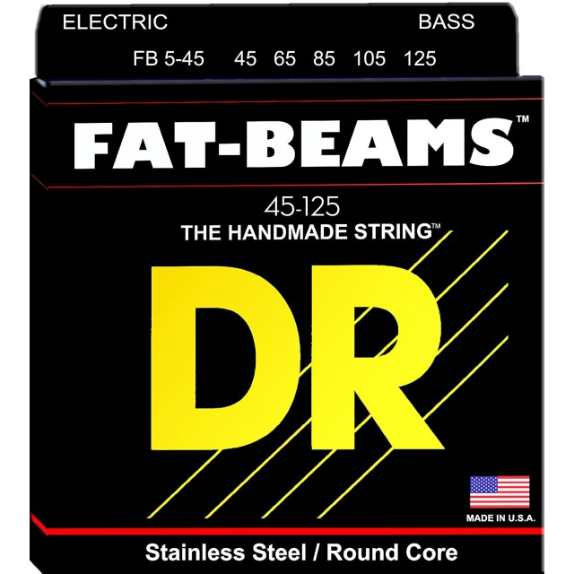 DR Strings FB5-45 Image #1