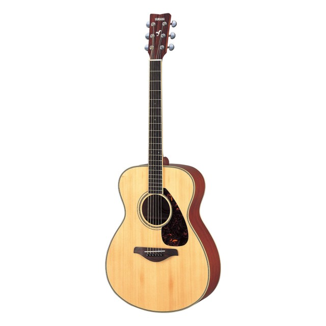 Yamaha fs720s folk size solid spruce top natural for Yamaha fg700s dimensions