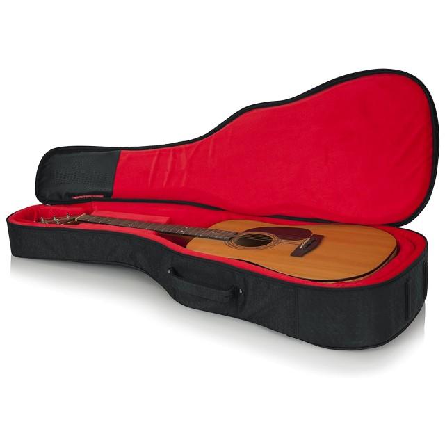 gator cases gt acoustic blk acoustic guitar bag. Black Bedroom Furniture Sets. Home Design Ideas