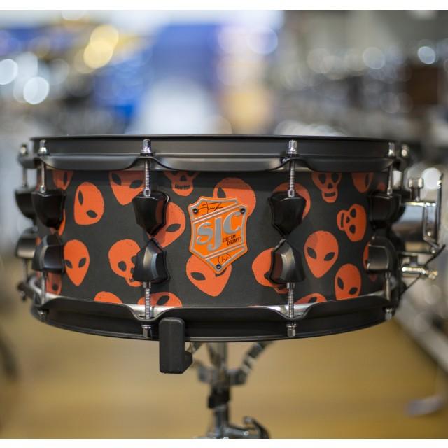 sjc custom josh dun 6x14 signature snare drum. Black Bedroom Furniture Sets. Home Design Ideas