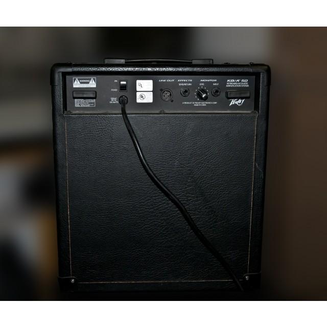 used peavey kba50 keyboard amplifier. Black Bedroom Furniture Sets. Home Design Ideas