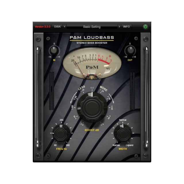 Plug and Mix Loudbass Plug-In