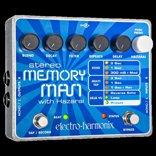 Electro Harmonix MEMORYMANHAZ Image #1