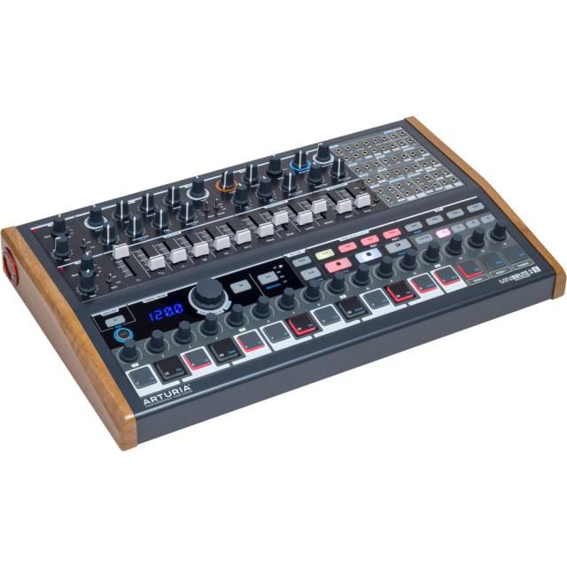 arturia minibrute 2s semi modular analog synthesizer seq. Black Bedroom Furniture Sets. Home Design Ideas