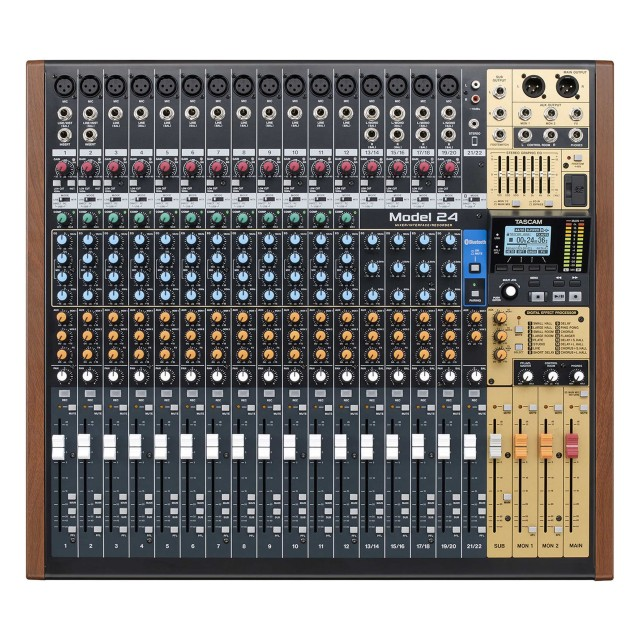 tascam model 24 digital multitrack recorder analog mi. Black Bedroom Furniture Sets. Home Design Ideas
