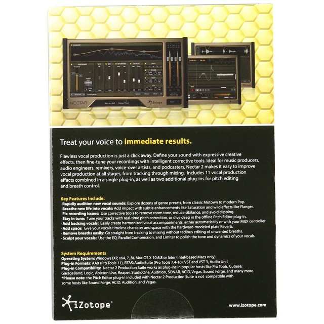 izotope nectar 2 vocal production suite. Black Bedroom Furniture Sets. Home Design Ideas